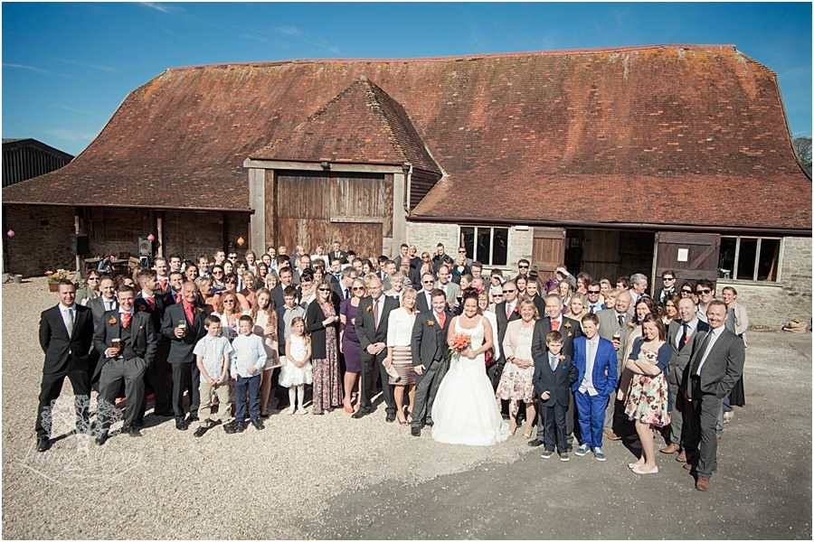 Stockbridge Farm Barn Wedding (18)